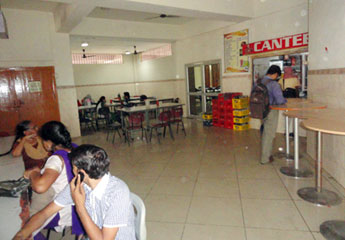 Cafeteria at Regional Science City, Lucknow