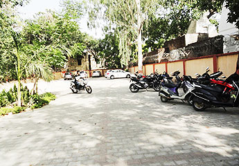 Parking at Regional Science City, Lucknow